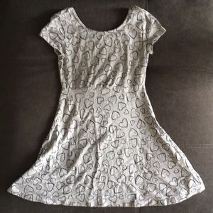 [simply styled] girl's heart babydoll dress (NWOT)